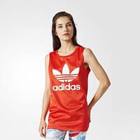Яркая женская майка adidas Originals Trefoil BK2090 - 2017