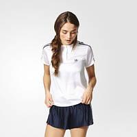 Женская футболка-поло Adidas 3-Stripes BK2339 - 2017