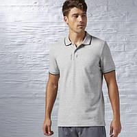 Мужская футболка-поло Рибок Elements Tipped Pique AJ3083