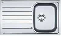 Franke Кухонная мойка Franke Spark SKL 611-86 Нержавеющая сталь (101.0331.025) + Сифон (112.0338.69)