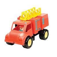 """Игрушка серии """"Первые машинки"""" - ПОЖАРНАЯ МАШИНА с фигуркой водителя для детей от 18 месяцев ТМ Battat Lite BT2451Z"""