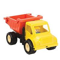 """Игрушка серии """"Первые машинки"""" - САМОСВАЛ с фигуркой водителя для детей от 18 месяцев ТМ Battat Lite BT2453Z"""