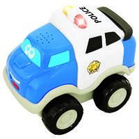 """Инерционная игрушка серии """"Первые машинки"""" - ПОЛИЦИЯ для детей от 1 года (свет, звук) ТМ Kiddieland - preschool 050088"""