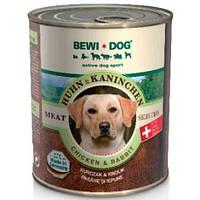 Bewi Dog Консервы для собак с мясом курицы и кролика, 800 гр