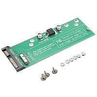 Адаптер-переходник для подключения к SATA 2.5' / 3.5'  18(12+6) Pin SSD Apple MacBook Air A1370 A1369