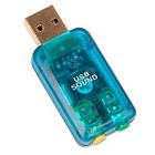 USB звуковая карта (3D, работает без драйверов)