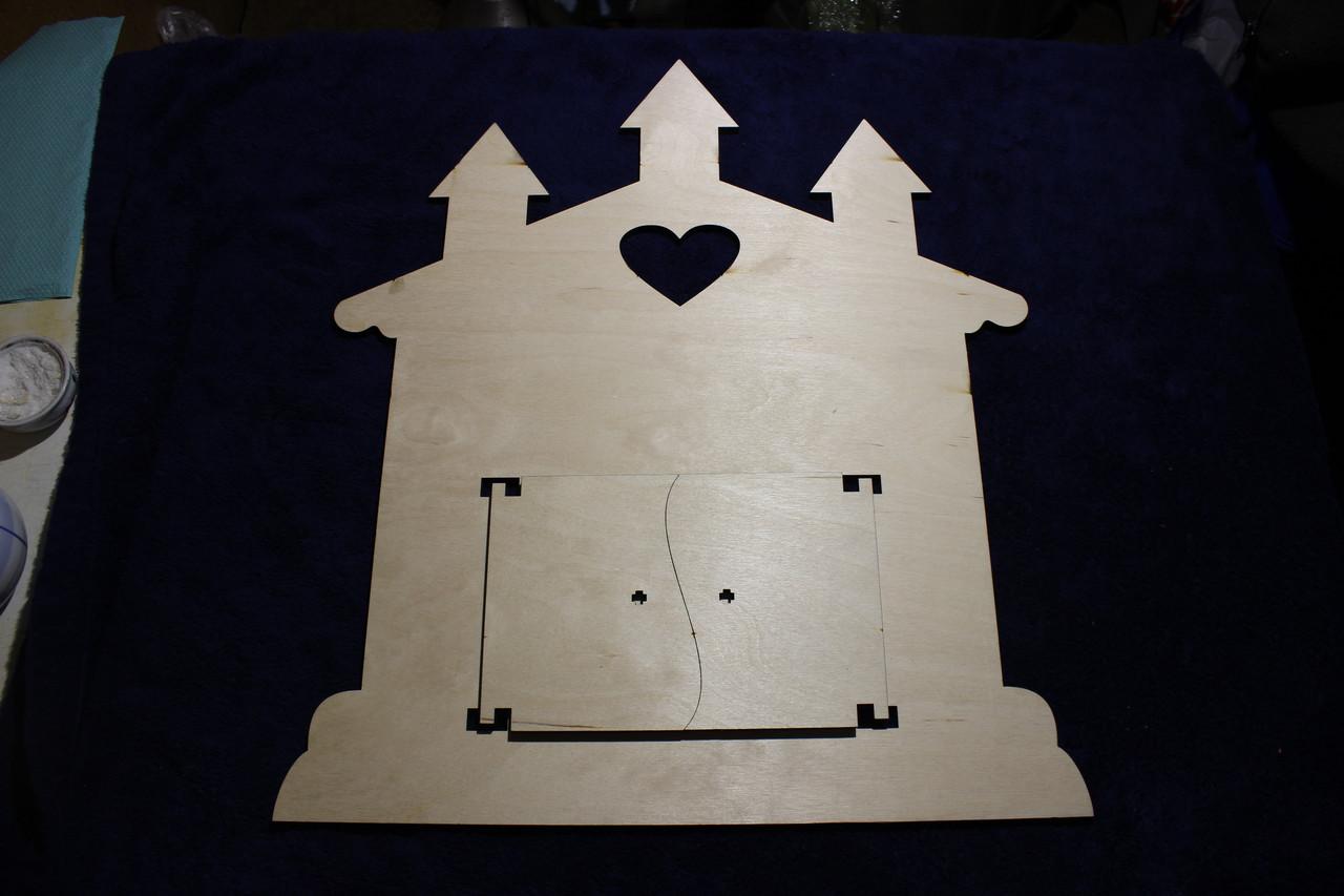 Заготовка основы для Бизиборда. Замок