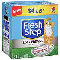 FRESH STEP Extreme Odor Control Наполнитель комкующийся, 9,06 кг