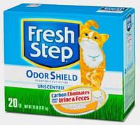 Fresh Step Odor Shield Unscented комкующийся наполнитель, 6,34 кг