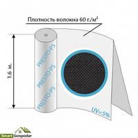 № 60G/M Агроволокно черное 60уф ( 1,6*100м )