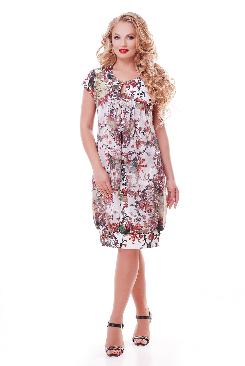 Платье летнее Флора