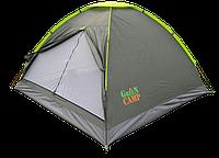 Палатка 2-х местная GreenCamp 1001А