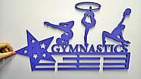 Держатель для медалей для художественной гимнастики. Изготовлено из фанеры толщиной 8 мм, 500 на 200