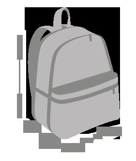 Замеры рюкзака
