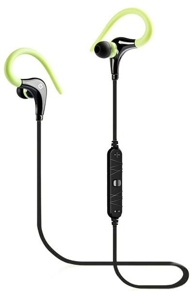 Стерео Bluetooth гарнитура ERGO BT-890 зелёная