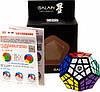 Игрушка головоломка Galaxy Megaminx concave черный пластик QiYi (QYXMD3)