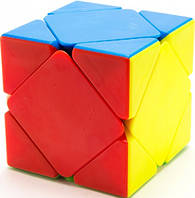 Кубик головоломка MoFangGe цветной пластик QiYi (QYKW03), фото 1