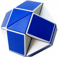 Игрушка головоломка Twist Puzzle синий белый ShengShou (SSTW24), фото 1