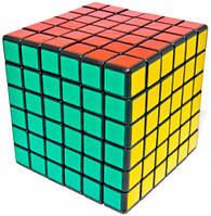 Кубик головоломка 6 × 6 черный ShengShou (SS6604)