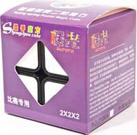 Кубик головоломка Aurora 2х2х2 черный пластик ShengShou (SS2205)