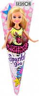 Кукла модница Лесли в мини платье 25 см Sparkle girlz Funville (FV24063-1)