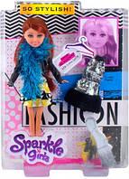 Кукла модница Габриэлла с боа с доп нарядом 25 см Sparkle girlz Funville (FV24486-3)
