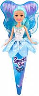 Ледяная фея Мия в бело голубом платье 25 см Sparkle girlz Funville (FV24008-3)