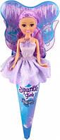 Ледяная фея Эмили в сиреневом платье 25 см Sparkle girlz Funville (FV24008-4)