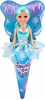 Ледяная фея Эмма в голубом платье 25 см Sparkle girlz Funville (FV24008-1)