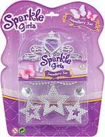 Набор аксессуаров для девочки с фиолетовыми стразами Sparkle girlz Funville (FV75055-2)