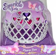 Набор из диадемы и сережек для девочки сердце Sparkle girlz Funville (FV75028-2)