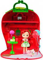 Ягодный домик Шарлотта Земляничка кукла аксессуары Strawberry Shortcake (12267N)