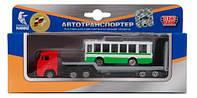 Игровой набор Автотранспортер Город Технопарк (SB-15-04-WB)