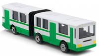 Минимодель Автобус с гармошкой Технопарк (SB-15-34-B)
