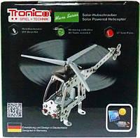 Конструктор металлический Вертолет на солнечной батарее 97 дет Tronico (9605-4)