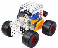 Конструктор металлический на батарейках Трактор 103 дет Tronico (9755-1)