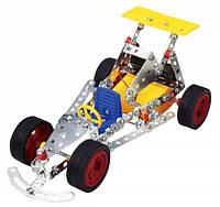 Конструктор металлический на батарейках Гоночная машинка 163 дет Tronico (9755-2)