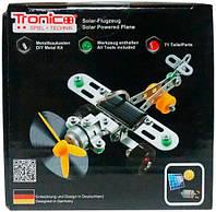 Конструктор металлический Самолет на солнечной батарее 71 дет Tronico (9735-1)