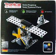 Конструктор металлический Самолет на солнечной батарее 98 дет Tronico (9735-2)