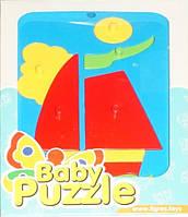 Развивающая игрушка Парусник Baby puzzles Wader (39340-8)