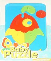 Развивающая игрушка Рыбка с пузырями Baby puzzles Wader (39340-5)