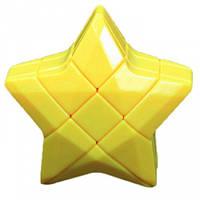 Игрушка головоломка Звезда Puzzle Star 3×3 желтая YJ (YJZLX03)