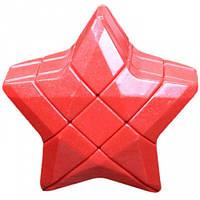 Игрушка головоломка Звезда Puzzle Star 3×3 красная YJ (YJZLX02)