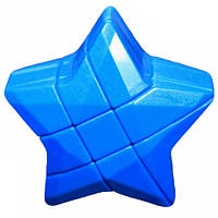 Игрушка головоломка Звезда Puzzle Star 3×3 синяя YJ (YJZLX01)