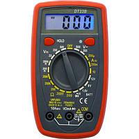 Цифровой мультиметр тестер DT-33B, фото 1