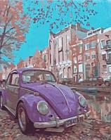 Рисование по номерам В стиле ретро серия За городом 40 х 50 см Идейка (KH2503)