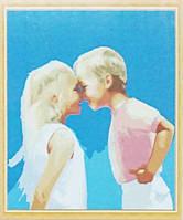 Рисование по номерам Веселое детство серия Дети 30 х 50 см Идейка (MG1026)