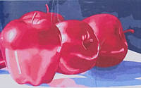 Рисование по номерам Яблоки серия Букеты натюрморты 30 х 50 см Идейка (KH2026)