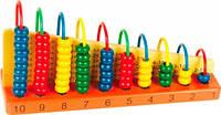 Наглядное пособие Арифметический счет Мир деревянных игрушек (Д013)