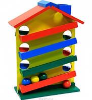 Горка Домик Мир деревянных игрушек (Д016)